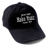 God Said Make Music Ball Cap