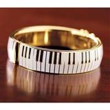 Piano Keys Bangle Bracelet