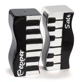 Wavy Keyboard Salt & Pepper Shakers