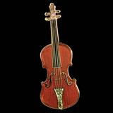 Stradivarius Violin Keychain