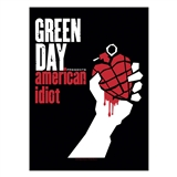 Green Day 'American Idiot' Textile Poster