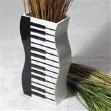 Wavy Keyboard Vase