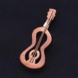 Copper Guitar Pin