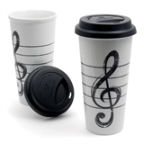 G-Clef Tall Travel Mug