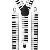 Piano Keyboard Suspenders