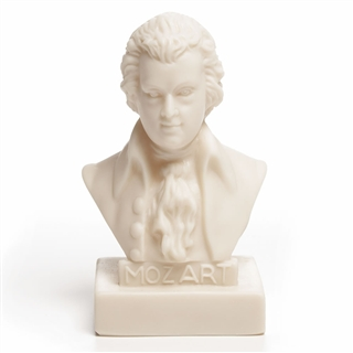 Mozart Vinyl Mini Bust At The Music Stand