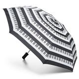 Piano Keys Compact Umbrella