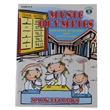 Music Olympics Book/CD
