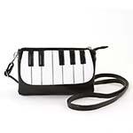Fashion Piano Keys Crossover Bag