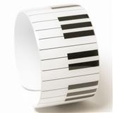 Keyboard Metal Cuff Bracelet