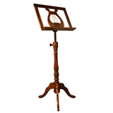 Rosewood 'Regency' Music Stand