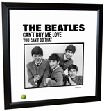 Beatles 'Can't Buy Me Love' Single Framed Lithograph