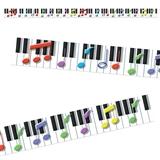 Keys to Music 2in x 39ft Border