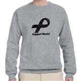 Support Music! Ribbon Sweatshirt