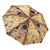 Gustav Klimt The Kiss Compact Umbrella
