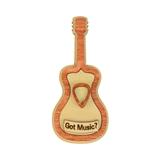 'Got Music?' Wooden Guitar Magnet