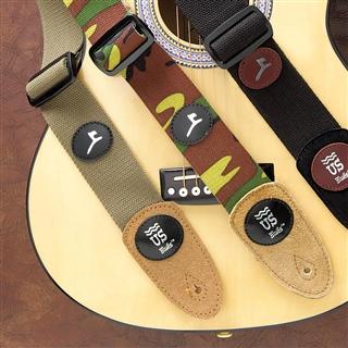 Canvas & Suede Guitar Strap