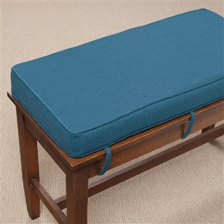 Ultra Thick Piano Bench Cushion At The Music Stand