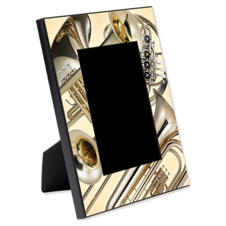 Brass Instruments Picture Frame